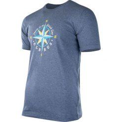 ELBRUS Koszulka męska Surgens Dark Blue Melange r. XXL. Niebieskie koszulki sportowe męskie marki ELBRUS, m. Za 39,69 zł.