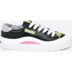 Love Moschino - Buty. Szare buty sportowe damskie marki Love Moschino, z materiału. W wyprzedaży za 479,90 zł.
