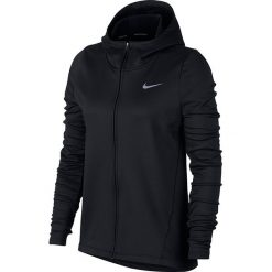 Bluzy damskie: bluza do biegania damska NIKE THERMA HOODIE CORE WARM / 856161-010