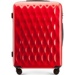 Walizka średnia 56-3H-552-30. Czerwone walizki marki Wittchen, z gumy, małe. Za 199,00 zł.