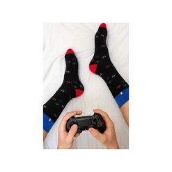 Skarpetki Playstation. Niebieskie skarpetki męskie marki 4lck, z włókna. Za 29,00 zł.