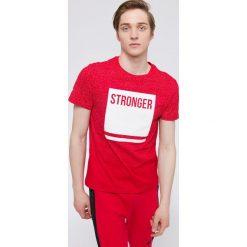 T-shirty męskie: T-shirt męski TSM217 - czerwony