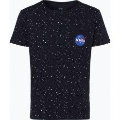 T-shirty męskie z nadrukiem: Alpha Industries – T-shirt męski, niebieski