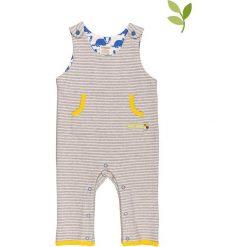 Pajacyki niemowlęce: Śpioszki w kolorze szarym