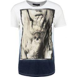 T-shirty męskie z nadrukiem: Religion TEMPTED Tshirt z nadrukiem white/baby blue