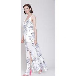 Sukienki: Biała Sukienka Love System