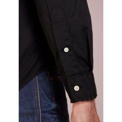Polo Ralph Lauren SLIM FIT Koszula black. Szare koszule męskie slim marki Polo Ralph Lauren, l, z bawełny, button down, z długim rękawem. Za 459,00 zł.