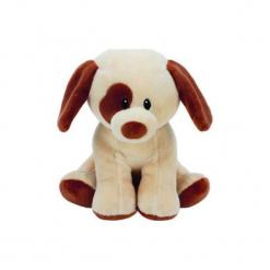 Maskotka TY INC Baby Ty  Bumpkin - pies. Szare przytulanki i maskotki TY INC, z materiału. Za 24,99 zł.