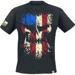 Diesel Power Gear Grunge Skull T-Shirt czarny. Czarne t-shirty męskie z nadrukiem Diesel Power Gear, l, z okrągłym kołnierzem. Za 74,90 zł.