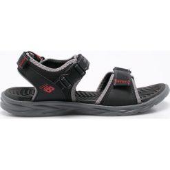 New Balance - Sandały. Czarne sandały męskie New Balance, z materiału. W wyprzedaży za 149,90 zł.