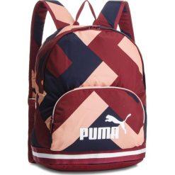 Plecak PUMA - Wmn Core Backpak 075396 03 Pomegranate/Graphic. Czerwone plecaki męskie Puma, z materiału, sportowe. W wyprzedaży za 129,00 zł.