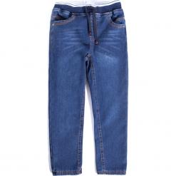 Spodnie. Niebieskie spodnie chłopięce marki TIME TO MOVE ON, z bawełny. Za 49,90 zł.