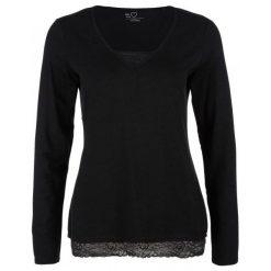 S.Oliver Koszulka Damska, 34, Czarna. Czarne t-shirty damskie S.Oliver, s, dekolt w kształcie v. Za 99,00 zł.