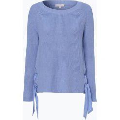 Swetry klasyczne damskie: talk about – Sweter damski, niebieski