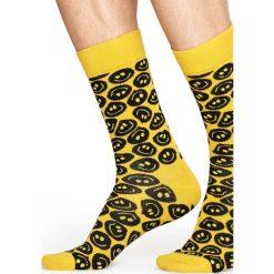 Happy Socks - Skarpety Twisted Smile. Brązowe skarpetki męskie Happy Socks. W wyprzedaży za 29,90 zł.