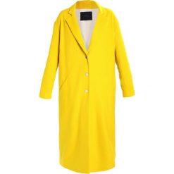 Płaszcze damskie pastelowe: IKKS Płaszcz wełniany /Płaszcz klasyczny jaune moyen