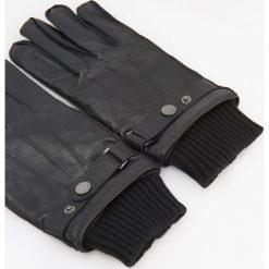 Rękawiczki z owczej skóry - Czarny. Czarne rękawiczki męskie Reserved, ze skóry. Za 119,99 zł.