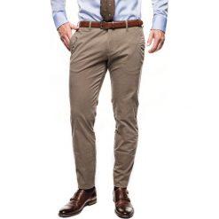 Spodnie galar 214 brąz slim fit. Szare rurki męskie Recman. Za 229,00 zł.