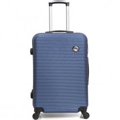"""Walizka """"London"""" w kolorze granatowym - 35 x 50 x 22 cm. Niebieskie walizki marki Hero & BlueStar, z materiału. W wyprzedaży za 173,95 zł."""