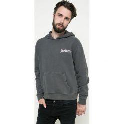 Review - Bluza. Czarne bluzy męskie rozpinane marki Review, l, z bawełny, z kapturem. W wyprzedaży za 99,90 zł.