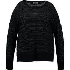 Swetry klasyczne damskie: Open End Sweter black