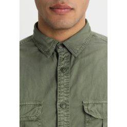 Koszule męskie na spinki: OVS Koszula green