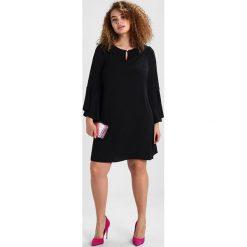 Sukienki hiszpanki: Evans FRILL SLEEVE DRESS Sukienka z dżerseju black