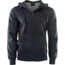 Bluzy męskie: Hi-tec Bluza męska Silian grey melange r. XL