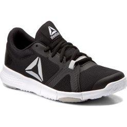 Buty Reebok - Flexlite BS5288 Black/Grey/White. Szare buty do fitnessu damskie marki Reebok, l, z dzianiny, z okrągłym kołnierzem. W wyprzedaży za 209,00 zł.