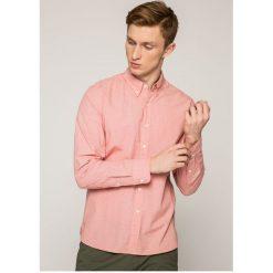 Levi's - Koszula. Brązowe koszule męskie na spinki Levi's®, m, w kratkę, z bawełny, button down, z długim rękawem. W wyprzedaży za 129,90 zł.