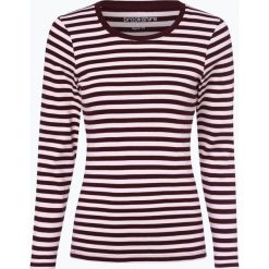 Brookshire - Damska koszulka z długim rękawem, czerwony. Czerwone t-shirty damskie brookshire, m, w paski, z dżerseju. Za 89,95 zł.