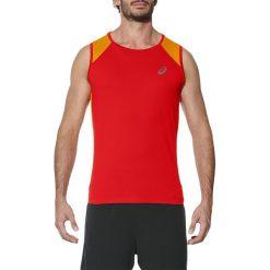 Asics Koszulka męska Race Singlet czerwona r. M (141195 0626). Czerwone koszulki sportowe męskie Asics, m. Za 128,33 zł.