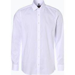 Olymp Level Five - Koszula męska łatwa w prasowaniu, czarny. Czarne koszule męskie na spinki OLYMP Level Five, m, z bawełny, z długim rękawem. Za 199,95 zł.