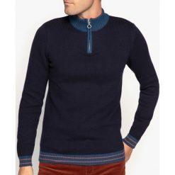 Kardigany męskie: Sweter ze stójką z grubej dzianiny