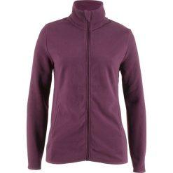Bluzy damskie: Bluza rozpinana z polaru bonprix czarny bez
