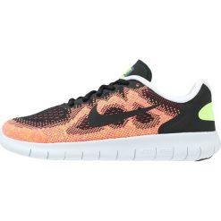 Buty sportowe chłopięce: Nike Performance FREE RUN 2 Obuwie do biegania neutralne black/hot punch/pure platinum