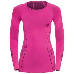 Odlo Koszulka tech. Odlo Shirt l/s crew neck EVOLUTION WARM Muscl - 185001 - 185001/30330/S. Różowe bralety marki Odlo, l. Za 249,76 zł.