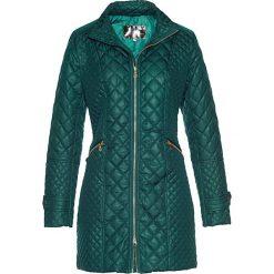 Płaszcze damskie: Płaszcz pikowany bonprix głęboki zielony