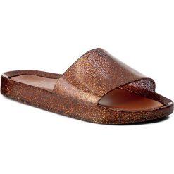 Chodaki damskie: Klapki MELISSA - Beach Slide Ad 31754 Glitter Gold 52973