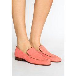 Creepersy damskie: CLOSED Półbuty wsuwane hot pink