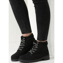 Czarne Traperki Loved Enough. Czarne buty zimowe damskie vices. Za 129,99 zł.