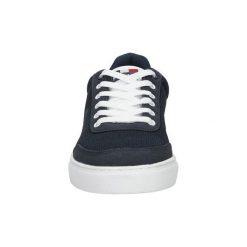 Tenisówki męskie: Buty American  Granatowe buty sportowe sznurowane  FH17005