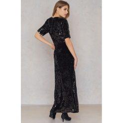 Długie sukienki: Just Female Sukienka Maxi Pallas - Black