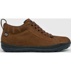 Camper - Buty. Brązowe buty skate męskie Camper, z gumy, na sznurówki. W wyprzedaży za 579,90 zł.