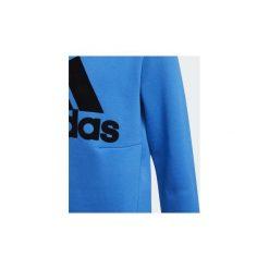 Bluzy Dziecko adidas  Bluza z zaokrąglonym dekoltem ID. Czarne bluzy chłopięce rozpinane marki Nike. Za 179,00 zł.