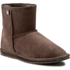 Buty EMU AUSTRALIA - Platinum Stinger Mini WP10003 Chocolate. Brązowe buty zimowe damskie EMU Australia, ze skóry, na niskim obcasie. Za 679,00 zł.