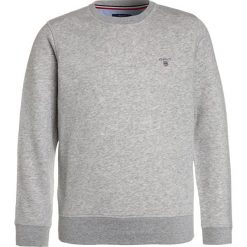 Bluzy chłopięce: GANT THE ORIGINAL C NECK Bluza light grey melange