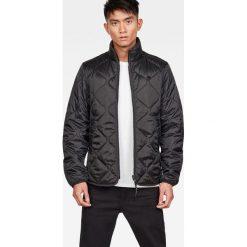 G-Star Raw - Kurtka. Czarne kurtki męskie pikowane marki G-Star RAW, l, z poliesteru, retro. Za 639,90 zł.