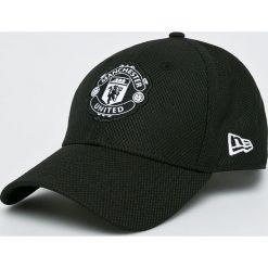 New Era - Czapka Manchester United. Czarne czapki męskie New Era, z poliesteru. Za 119,90 zł.