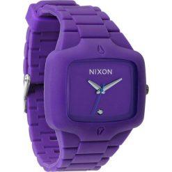 Zegarki męskie: Zegarek unisex Purple Nixon Rubber Player A1391230